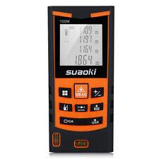 Handheld Digital LCD Laser Distance Meter Range Finder Measure Diastimeter 100m