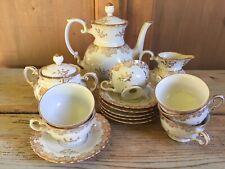 Antico Richard Ginori 1930 Servizio Caffè Porcellana Forma Bavaria Coffee pot