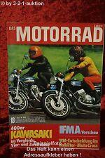 Das Motorrad 18/74 Ducati Kawasaki Z400 S3 Sanglas