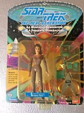 "STAR TREK: THE NEXT GENERATION  5"" DEANNA TROI (LAVENDER SUIT) FIGURE -PLAYMATES"