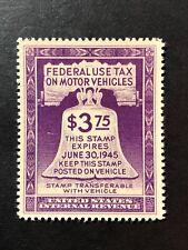 Scott Rv33 Mnh Us Federal Motor Vehicle Revenue Tax 1944