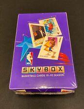 1991-92 Skybox  Basketball Factory Sealed Box 36 packs🔥 Michael Jordan