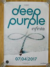 Deep Purple - DIN A1 - 2017 Album LP Box CD - Promo Poster Plakat - Infinite