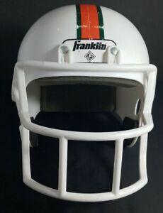 Miami Hurricanes Mini Helmet Riddell Sports College University Football USED CD.