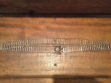 """Women's Silver Metal Link Belt, 38"""" long, 1 1/2"""" wide"""