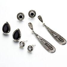Para Mujeres Moda Vintage/Bali Boho de diamantes de imitación de cristal Drop & Aretes Conjunto