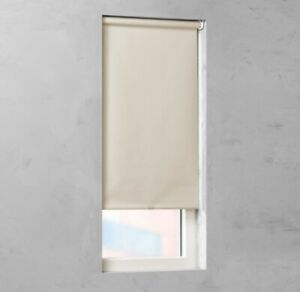 NEW Cocoon by Coulisse Light Filtering Fabric Cordless Roller Shade - Sand