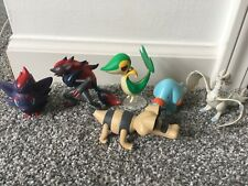 Lot of 6 Pokemon Jakks Pacific figures, great condition, Zorua Snivy Reshiram
