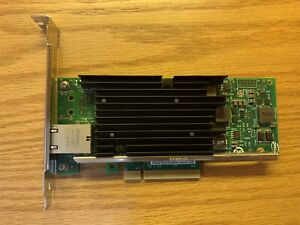 Intel X540-T1 Single Port PCIe x8 Ethernet Converged Network Adapter 10Gb NIC