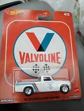 Hot Wheels - '63 STUDEBAKER CHAMP Truck - Valvoline - Car Culture Premium