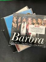 Lot of 17 Barbra Streisand music CDs including live concerts