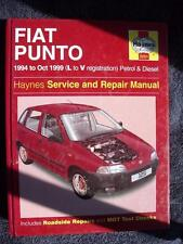 Haynes Workshop Manual Fiat Punto 94-99 Petrol & Diesel (3251) Selecta & Turbo