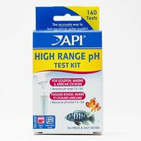 API High Range PH Test 160 Test For Kit Fresh or Saltwater Aquarium Fish Tank
