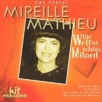 """MIREILLE MATHIEU """"DIE WELT IST SCHÖN..."""" CD NEUWARE!!!!"""