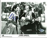 Chevy Chase Three Amigos Authentic Signed 8X10 Promo Photo BAS Witnessed #I47787