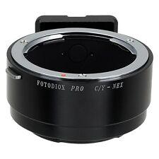 Fotodiox objetivamente adaptador pro Contax/Yashica (CY, C/y) lente para Sony NEX
