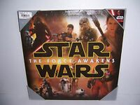 Star Wars The Force Awakens Character Collage Canvas Print Wall Art 16 X 16 NEW!