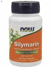 Silymarin 150 mg 60 vCaps, Now Foods, Liver Fast Shipping