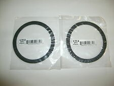 LOT OF ( 2 )   GROCO RAW WATER PUMP STRAINER LID GASKETS S-751-A