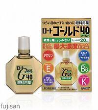 Rohto Gold 40 Mild Eye Drops 20ml Free Shipping