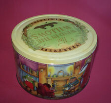 LARGE 1996 CARLTON TELEVISION THE WIND IN THE WILLOWS BISCUIT TIN