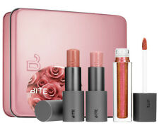 Bite beauty love bite set lipstick prismatic lip gloss mirror new