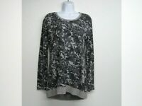 Anthropologie Saturday Sunday Floral Long Sleeve Top Tunic Women's XS