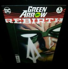 ➗🏹GREEN ARROW:REBIRTH⚡ #1 (2nd Print) VF/NM(2016, DC Comics)💥 BLACK CANARY💥