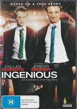 INGENIOUS - DALLAS ROBERTS & JEREMY RENNER - TRUE STORY -NEW DVD FREE LOCAL POST
