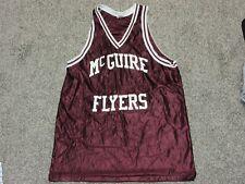 Vintage Jesco McGuire Flyers maroon basketball tank jersey shirt Mens Xxl New