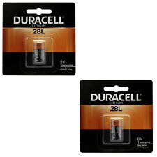 2x Duracell 28L Lithium Battery Replacement for 46V 2CR11108, L544, PX28L