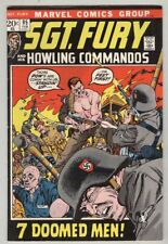 Sgt. Fury and His Howling Commandos #95 February 1972 VG Kirby Art