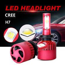 2x H7 252W 25200LM CREE LED Headlight Kit Fog Light Bulbs White 6500K High Power