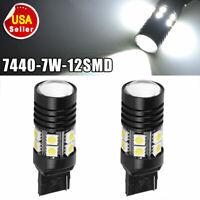 CAR TRUCK BOAT Bulbs  #7440 Bulbs 7440 CLEAR Bulbs 12 Volts 21 Watts 1 Pieces