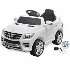 vidaXL Elektrische Auto met Afstandsbediening Mercedes Benz Wit Speelgoedauto