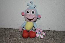 "2013 Viacom Boots Monkey Dora the Explorer Plush Toy Stuffed Animal 8"""