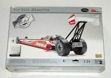 Testors Burago Top Fuel Dragster Limited 1:24 Scale Diecast Metal Model Kit NEW