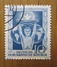 EBS East Germany DDR 1955 People's Solidarity Volkssolidarität Michel 484 CTO