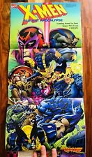 X-men Apocalypse Nintendo Power Poster Authentic New in Earthworm Jim Vol 67