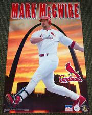 Rare MARK MCGWIRE St. Louis Cardinals 1998 Arch Sunset Starline Baseball POSTER