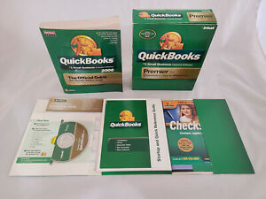 Quickbooks Premier Edition 2006 Windows Software and Guidebook SKU 296559
