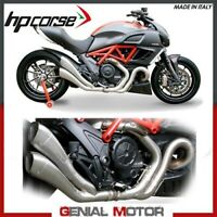 Exhaust Hp Corse Hydroform Satin 2X1 Ducati Diavel 2011 11