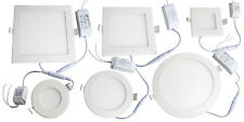 IP66 WATERPROOF LED RECESSED CEILING PANEL LIGHT DOWNLIGHT BATHROOM KITCHEN NEW