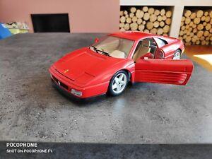 1/18 BURAGO FERRARI 348 TB 1989 BE
