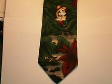 New listing Disney Mickey Mouse Mens Tie Mickey In The Jingle 3.75 X 58