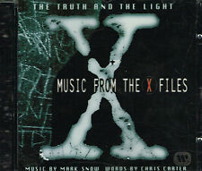 CD album: Music From The X Files: Mark Snow. Chris Carter. WB . H