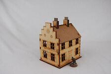 NORTH EUROPEAN 2 STOREY HOUSE #7 28mm Laser cut MDF scale Building & Terrain,...
