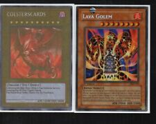Yugioh Card - Secret Rare Holo - Lava Golem PGD-107 1st Edition