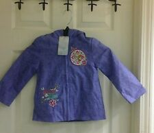 Disney's Frozen character light weight purple jacket,  toddler girls size 2T