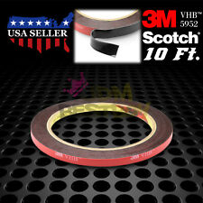 Genuine 3M VHB #5952 Double-Sided Mounting Foam Tape Automotive Car 6mm x 10FT